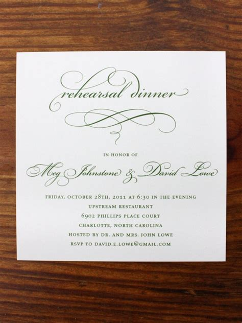 10 Easy and Unique Rehearsal Dinner Invitations – BestBride101