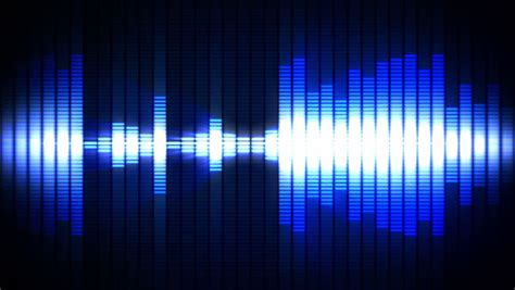 Frequency Sound Wave Stock Footage Video 3783347
