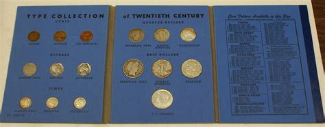 Type Collection of 20th Century United States Coins 1957