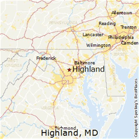 Best Places to Live in Highland, Maryland