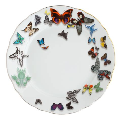 Buy Christian Lacroix Butterfly Parade Dinner Plate   Amara