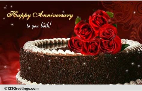 Anniversary Family Wishes Cards, Free Anniversary Family