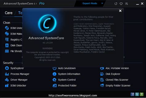 Download Advanced Systemcare Pro 6