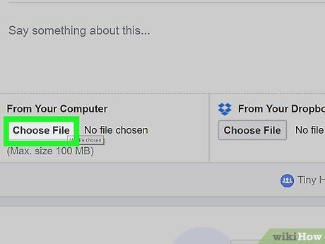 How to Post PDF Files to Facebook on a PC or Mac: 8 Steps