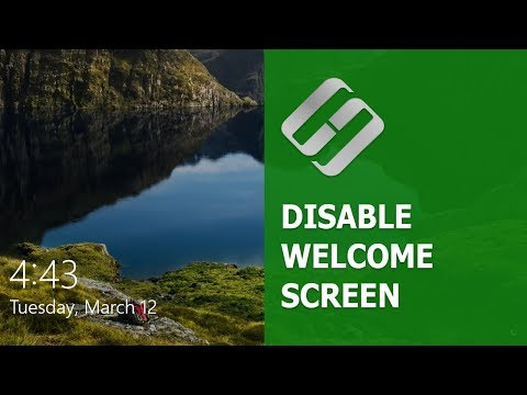 How to disable Blurred Background on Login Screen in