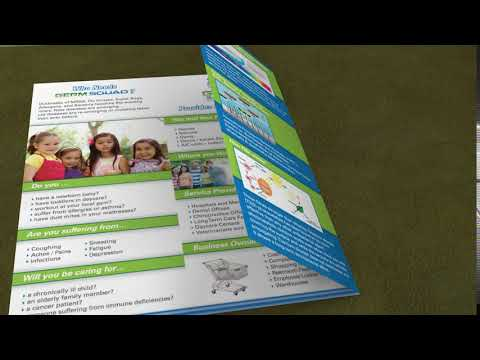 Carpet Cleaning Tri Fold Brochure Template - Word & Publisher