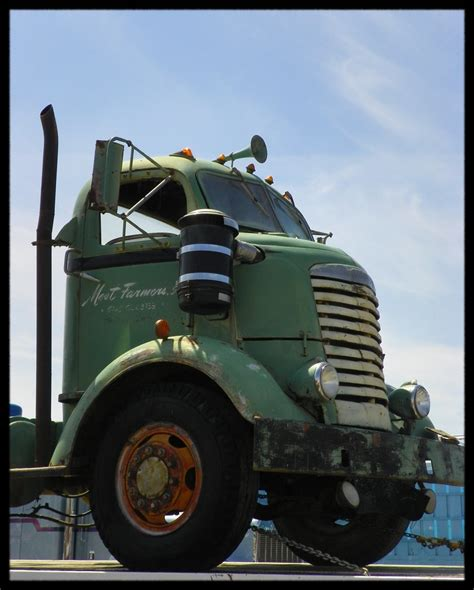 Old GMC COE Truck | Not sure what year this GMC COE truck