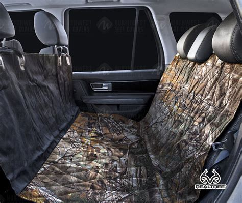 Realtree Camouflage Dog Seat Covers | Rear Seat Protection