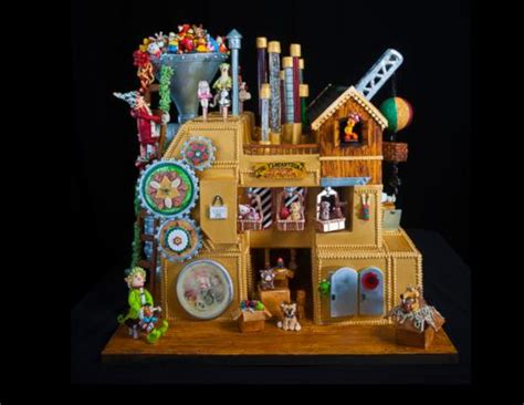 Jaw-dropping Gingerbread Houses Picture | Winners of 21st