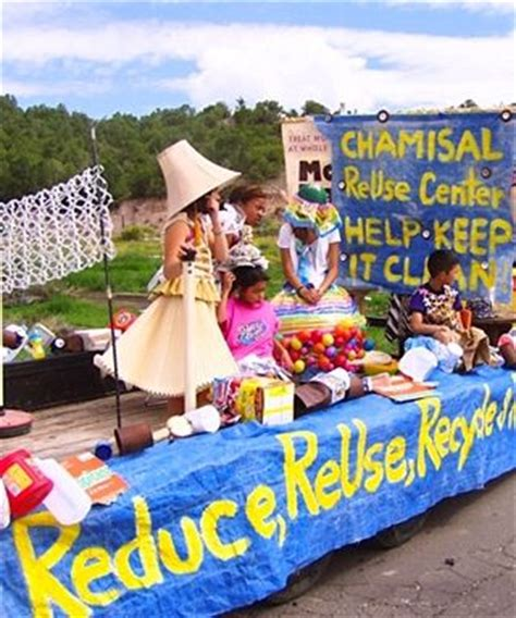 Easy Parade Float Ideas   The ReUse Center: It All Comes