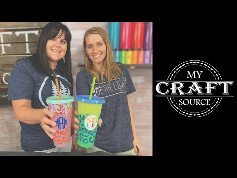 TAL Color Changing Hot Cups with Designs, Reusable, Set of