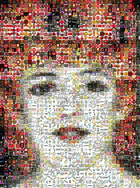 Third Gallery of Photographic Mosaic Pictures