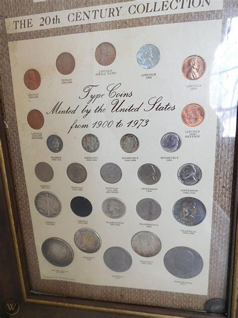 1974 Kennedy Mint The 20th Century Coin Collection From