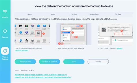 Quickly Transfer, Backup and Restore Your WhatsApp and