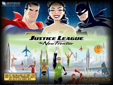 Justice League New Frontier on DVD / TV Shows on DVD