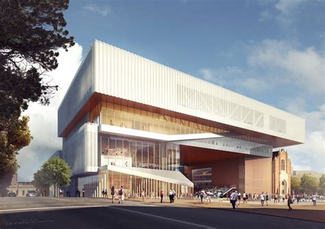OMA + HASSELL team up for new museum in perth, australia