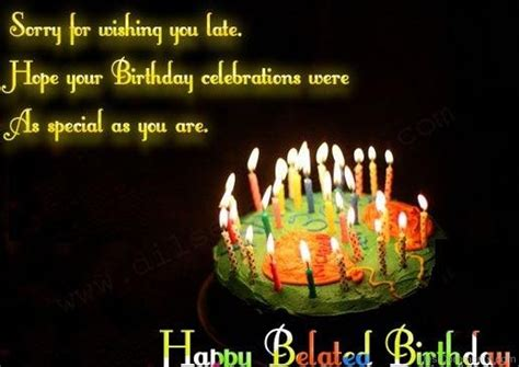 Belated Birthday Pictures, Images, Graphics - Page 8