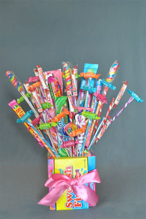 How to Make a Candy Bouquet: 57+ DIY Ideas | Guide Patterns