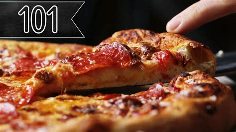 Tasty 101 - The Best Homemade Pizza You'll Ever Eat