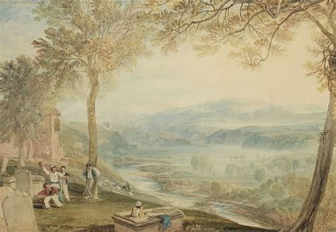 J M W Turner Kirkby Lonsdale Churchyard painting auctions