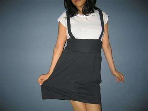 Jumper Skirt Out Of A T Shirt · How To Recycle A Sweater