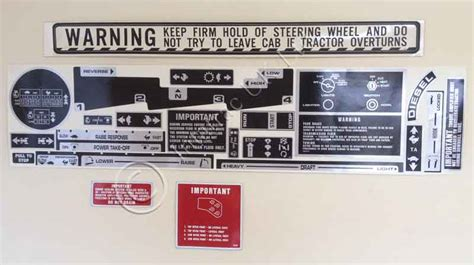 L Cab & Chassis Decal Set (Contains 22 items)   Intatrac