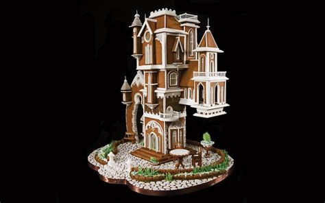 10 Gingerbread Houses That Are Actually Works of Art