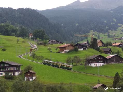 Discover Parking Grindelwald, a step by CaraMaps