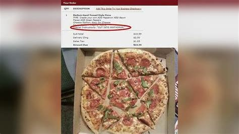10+ Hilarious And Totally Strange Pizza Delivery Requests