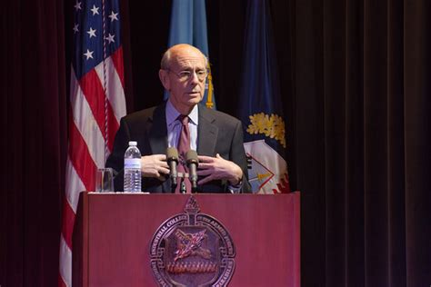 Eisenhower Students Treated to Lively Address and Q&A by