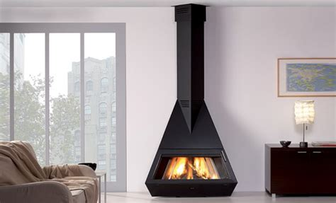 Modern Black Fireplaces By Rocal - DigsDigs